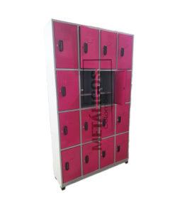 locker metalico de 16 compartimentos