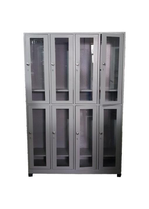 locker puertas acrílico