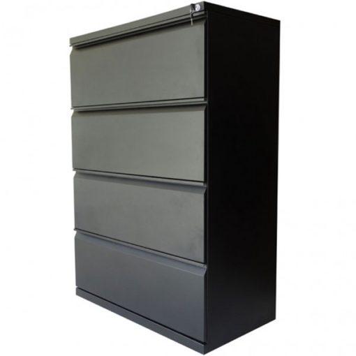 archivador horizontal de 4 gavetas