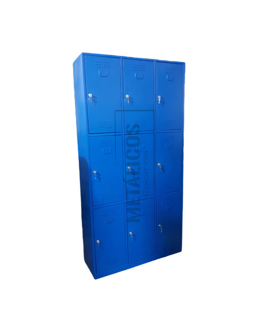 locker metalico con seguridad