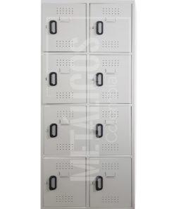 Locker 8 compartimientos