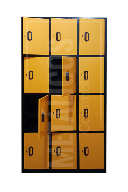 Locker 12 compartimientos