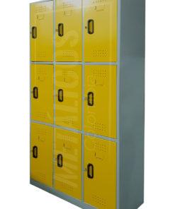 Locker 9 compartimientos